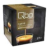 Qbo Kapseln - Caffè Jebena Yirga (Kaffee, leicht und fruchtig-aromatisch) (27x8 Kapseln)