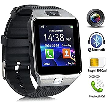 KeepGoo Bluetooth reloj inteligente - Reloj de pulsera watch Fit para smartphones iOS Apple iPhone 4/4S/5/5 C/5S Android Samsung S2/S3/S4/Note 2/Note 3 HTC ...