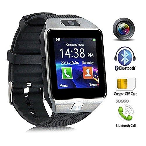 KeepGoo Bluetooth reloj inteligente - Reloj de pulsera watch Fit para smartphones iOS Apple iPhone...