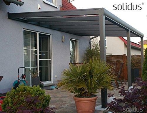Giardino Dinverno Terrazza : Solidpremium cm bxt alu terrazza ueberdachung antracite