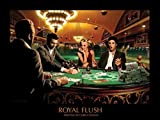 1art1 54576 Chris Consani - Royal Flush Poster Kunstdruck 80 x 60 cm
