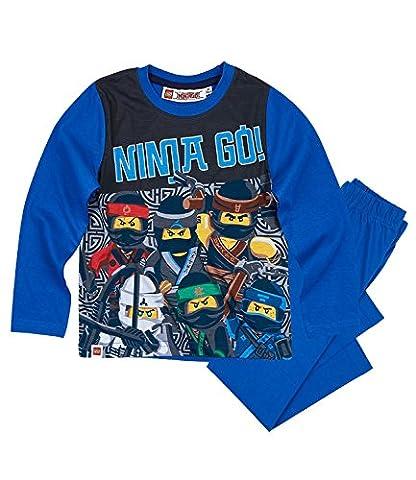 Lego Ninjago Jungen Pyjama - blau - 116