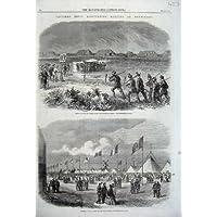 Fucile 1861 che Va Incontro alla Gamma di Infornamento delle Tende di Vista di Wimbledon - Gamma Vista