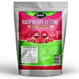 Raspberry Ketones Extreme - 3000mg Tagesdosierung - 90 Kapseln - 100% Himbeere Ketone - Fatburner - Diät Ergänzung - German Elite Nutrition