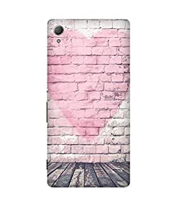 Pink Heart Sony Xperia Z4 Case
