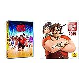 Rompe Ralph 1 DVD +  Calendario 2019 Ralph Breaks the Internet, 30 x 30 cm