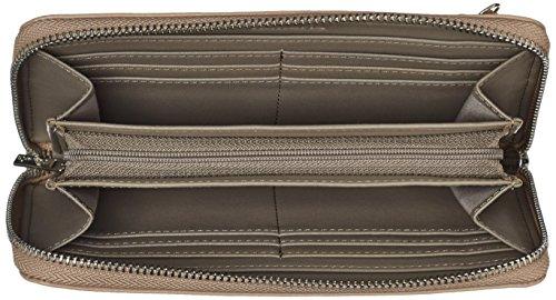 Tamaris - Estelle Big Zipped Around Wallet, Portafoglio Donna Sabbia