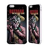 Head Case Designs Officiel Batman DC Comics The Killing Joke Couvertures Célèbres De Livre Comique Coque Bumper Slider en Argent en Aluminium Compatible avec iPhone 6 Plus/iPhone 6s Plus