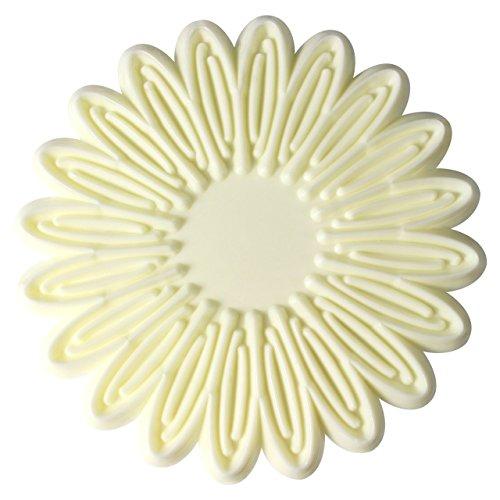 PME 103FF053 JEM Großer Ausstecher für jeweils einen Schwung Blütenblätter von Margeriten und Gerbera, Kunststoff, Ivory, 14 x 1 x 18.5 cm (Gerbera Daisy Cutter)