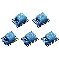 WINGONEER 5PCS KY-019 5V Escudo de placa de módulo de relé de 1 canal para PIC AVR DSP ARM para arduino Relay