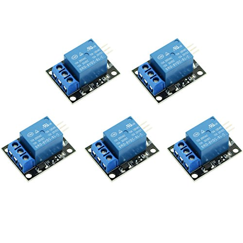 WINGONEER 5PCS KY-019 5V Ein Kanal Relais Modul Board Shield Für PIC AVR DSP ARM für Arduino Relais