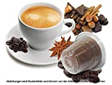 Probierset - 50 Stück Kompatible Flavored Kaffeekapseln von Caffè Bonini Italien - 5 Geschmacksrichtungen (Je 10 Kapseln Flavored). Kompatibel für Nespresso* Maschinen