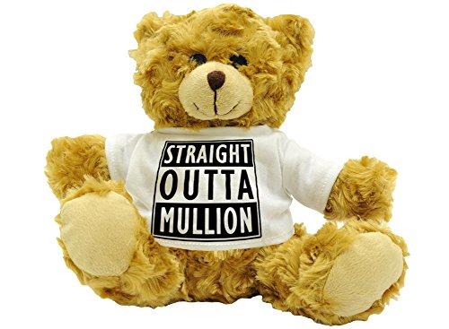 Preisvergleich Produktbild Gerade Outta Mullion – Stilisierte niedlichen Plüsch Teddy Bär Geschenk – ca. 22 cm hoch.