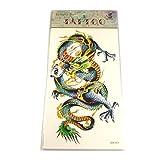 Tattoo chinesischer Drache bunt