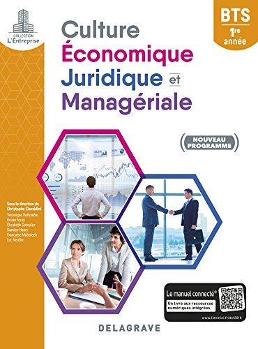 Culture économique, juridique et managériale BTS 1re année