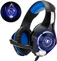 Beexcellent GM-1 - Auriculares Gaming para PS4, PC, Xbox one, PlayStation - Psone, Cascos Ruido Reducción de D