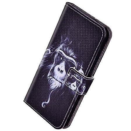Herbests Kompatibel mit Samsung Galaxy S7 Edge HandyHülle Handytasche Männer Multifunktionale Reißverschluss Brieftasche Hülle Leder Schutzhülle [9 Kartenfach] Handschlaufe Ständer,Rose Gold