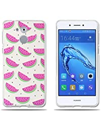 fubaoda,Funda Huawei Honor 6C/Nova Smart/Enjoy 6s,Carcasa de Silicona
