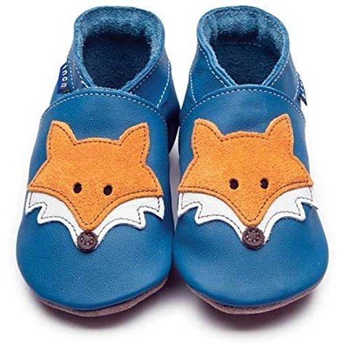 Inch Blue Unisex Lauflernschuhe mit Fuchs Blau