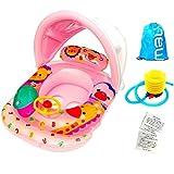 LnVision Baby Schwimmsitz Geeignet Kleinkinder Float Sitzring Car für 1-6 Jahre (Rosa)
