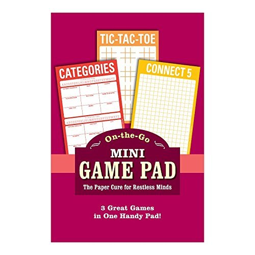 Mini Game Pad: Tic-Tac-Toe by Knock Knock (30-Mar-2015) Mass Market Paperback -