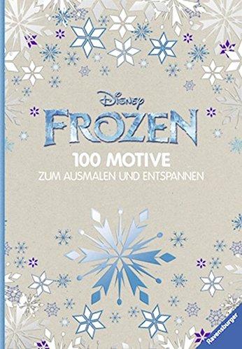 frozen cd Disney Frozen - 100 Motive zum Ausmalen und Entspannen
