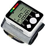 Tensiómetro de Muñeca Automático, Monitor de Presión Arterial Digital Inteligente, ...