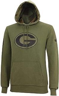 New Era Fleece Hoody NFL Green Bay Packers 2.0 schwarz