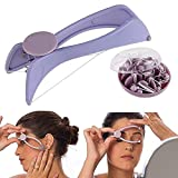FreshDcart Facial Hair Threading Plastic Tool Removal System Tweezer Slique with Eyebrows Threading Epilator Machine Kit and Facial Hair Thread for Girls Women (Multicolour)