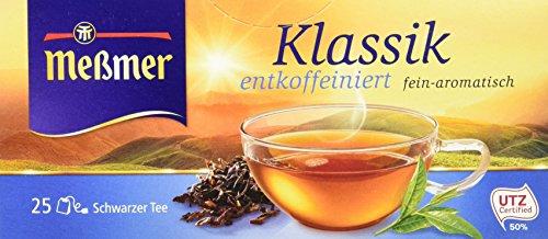 Meßmer Klassik entcoffeiniert 25 TB, 6er Pack  (6 x  43,75 g Packung)
