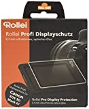 Rollei Pro Display Protection - Protector de pantalla para Canon D5 Mark IV, color negro