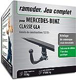 Rameder Attelage rotule démontable pour Mercedes-Benz Classe GLA + Faisceau 7...