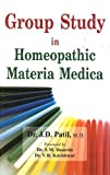 Group Study in Homeopathic Materia Medica