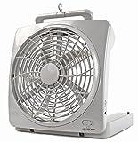 Nerd Clear Ventilator weiß Kühler Raum-Lüfter Luft-Erfrischer Lüftung Wohnmobil Wohnwagen Boot