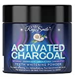 Blanqueamiento dental de Carbón Activado 100% Natural y puro | 60 g de Carbón Activo en polvo | Refresca el aliento | Activated charcoal de RAY OF SMILE Premium Line