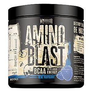 51AfYgaCJEL. SS300  - Warrior Amino Blast BCAA Powder Amino Acids 270g - Cherry Cola 30 Servings