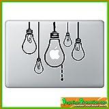 Autocollant pour Macbook air (ampoules de apple 13, 15, 17 ZOLL) KT-0055-FR