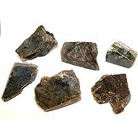 Labradorit Kristallen Slice Set–Eine Seite poliert und Raw Teile–labsl14 preisvergleich bei billige-tabletten.eu