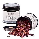 Bio Rosenblütenblätter N°948 - blumig, feinrosig & dekorativ, in eleganter Gewürzdose mit doppeltem Aromadeckel, Inhalt: 10g