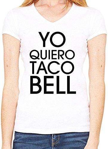 yo-quiero-taco-bell-funny-slogan-damen-v-ausschnitt-t-shirt-x-large