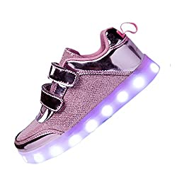 DoGeek Zapatos Led Ni as...
