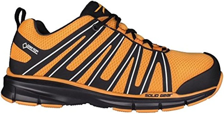 Solid Gear sg8011348 Revolt GTX – Zapatos de seguridad S3 talla 48 naranja/negro