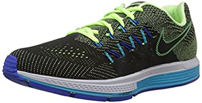 Nike Men's Air Zoom Vomero Ghost Green,Black,Blue Lagoon,Game Royal  Running Shoes -13 UK/India (48.5 EU)(14 US)