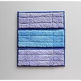 KaiWoo® Lot de 3 microfibre lavables tampon sec humide et humide et le tissu qui s'braava jet 240 - remplacement réutilisables