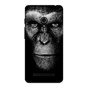 Impressive Chimp King Black Back Case Cover for Zenfone 5