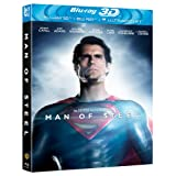 Man of Steel [Blu-ray 3D + Blu-ray + UV Copy]