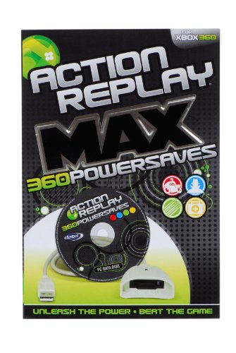 Xbox 360 - Action Replay Powersaves (Action Replay Xbox 360)