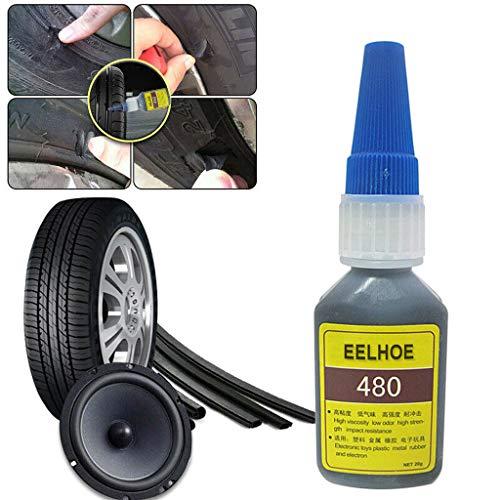 BESSKY Reifenreparatur Kleber, Mighty Reifenreparaturkleber Reifenpannensiegel Bike Car Reifenreparatur Patch Craft für Auto/Motorrad/Fahrrad/LKW, 200ML