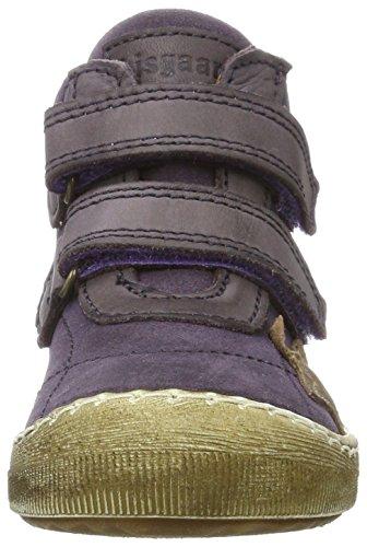 Bisgaard Klettschuhe, Chaussons montants mixte enfant Violett (5006-1 Purple)