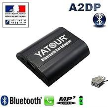 Yatour-Kit manos libres con Bluetooth y streaming de sonido para Citroën RD4, Citroën C2C3C4Picasso DS3 DS4 DS5 C5 C6 C8 Nemo Jumpy Jumper